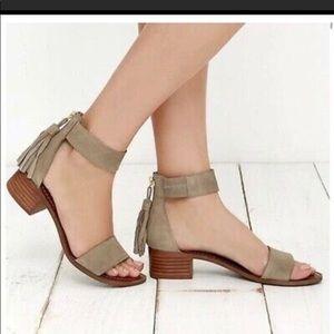 Size 9.5 Steve Madden Suede Sandal